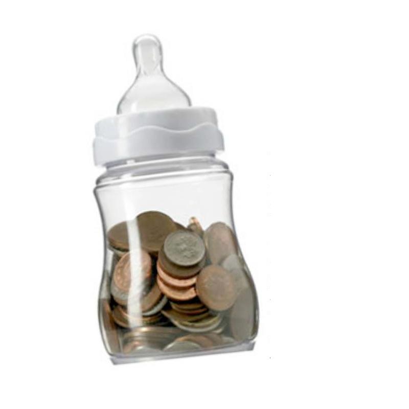 Change in a Baby Bottle